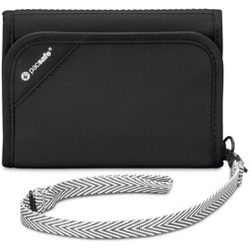 Pacsafe RFIDsafe V125 portemonnee zwart